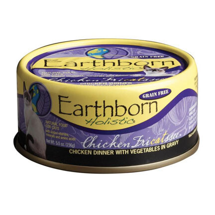 EarthBorn Cat Chicken Fricatsee 5oz