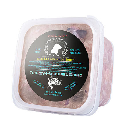 Corrinas Turkey/Mackerel Grind 2#