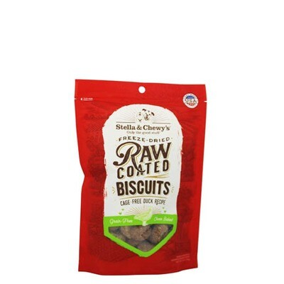 Stella Dog Raw Coated Biscuit Duck 9oz