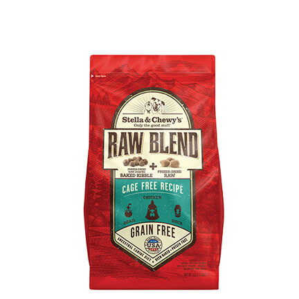 Stella Dog Raw Blend Cage Free 10#