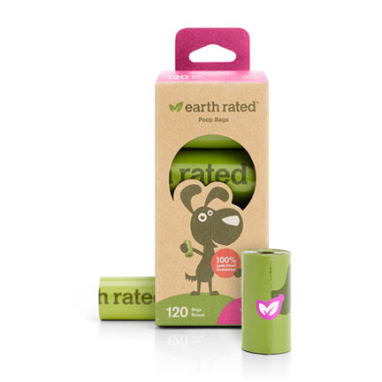 Earth Rated Poop Bag Refill 8ct Lav