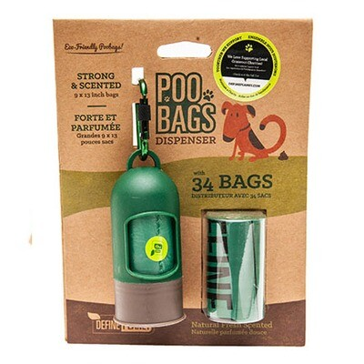 DP Poo Bags Dispenser with 2 Rolls