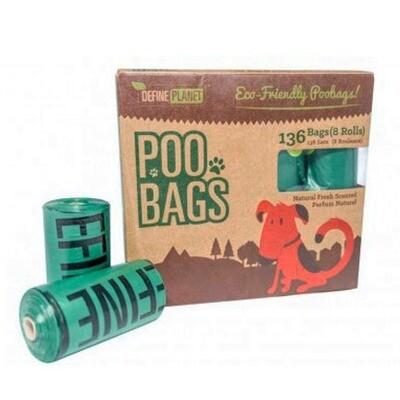 DP Poo Bags Refill 8ct