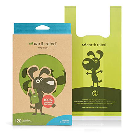 Earth Rated Poop Bags w/Handles 120ct