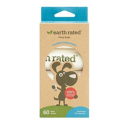 Earth Rated Poop Bag Compost 4/60ct