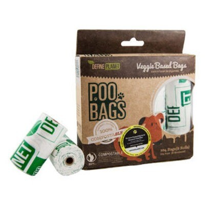 DP Poo Bags Compostable 8pk