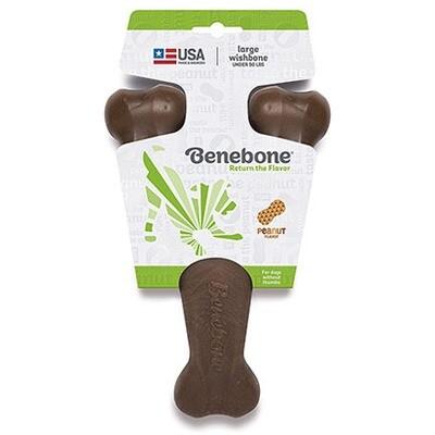 Benebone Wishbone Large Peanut