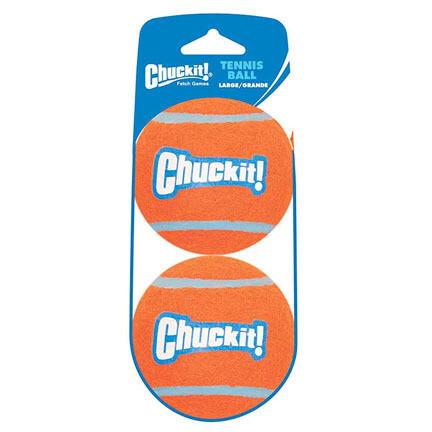 Chuckit Large Tennis Balls 2pk