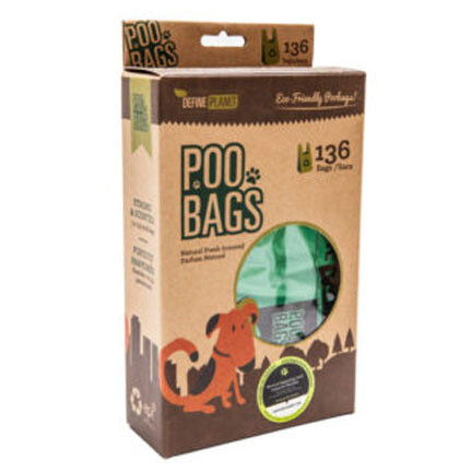 DP Poo Bags T-Shirt Sty 136ct