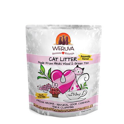 Weruva Tea Potty Litter 6#