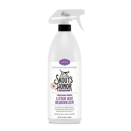 Skouts Litter Box Deodorizer Purple 35oz