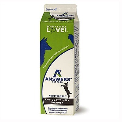 Answers FRZ Goat Milk 1qt