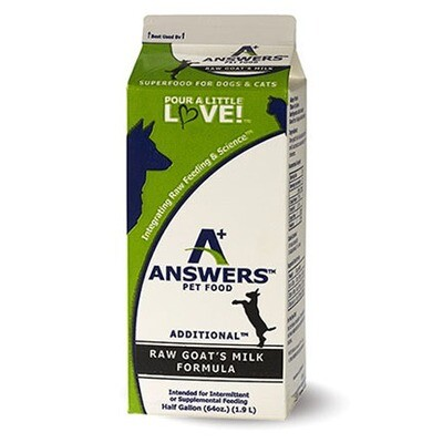 Answers FRZ Goat Milk 1/2 Gallon