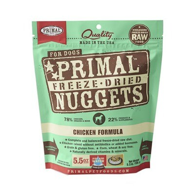 Primal Dog FD Chicken 5oz