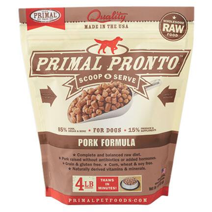 Primal Dog Pronto Pork 4#