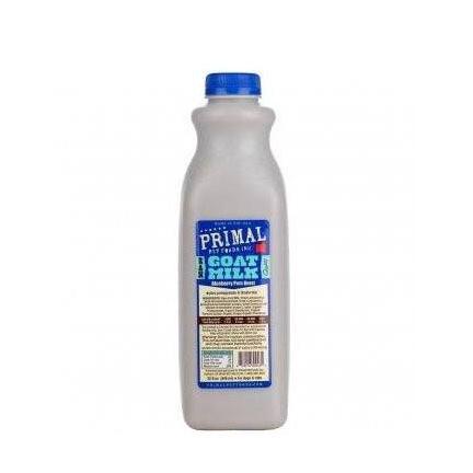 Primal Goat Milk Blueberry 1qt