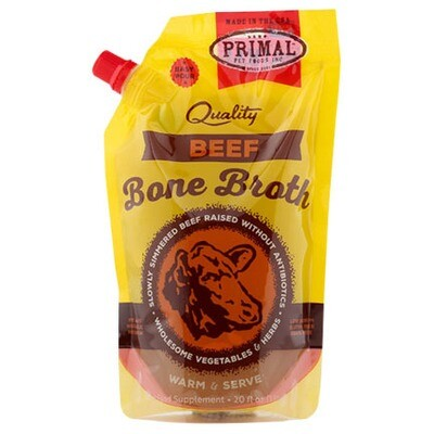 Primal Beef Bone Broth 20oz