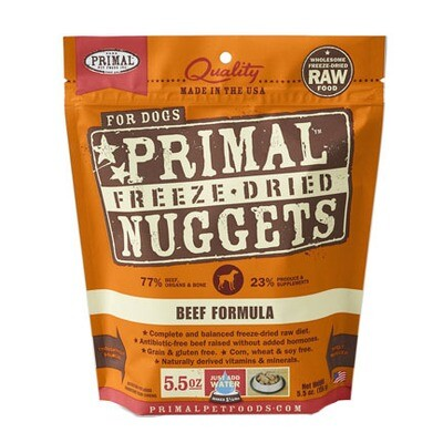 Primal Dog FD Beef 5oz