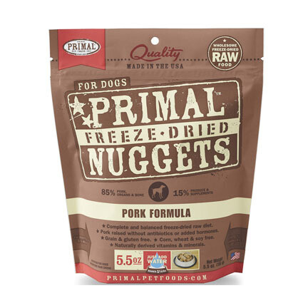 Primal Dog FD Pork 5oz