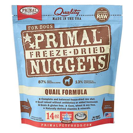 Primal Dog FD Quail 14oz
