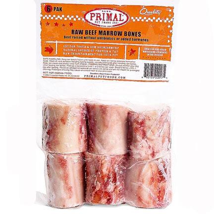 Primal Beef Marrow Bones 6pk