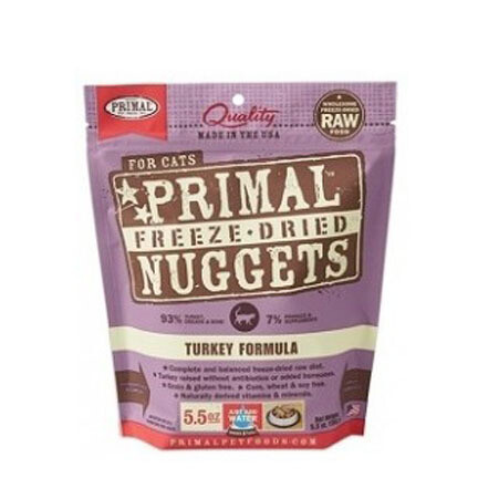 Primal Cat FD Turkey 5oz