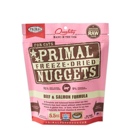 Primal Cat FD Beef/Salmon 5oz