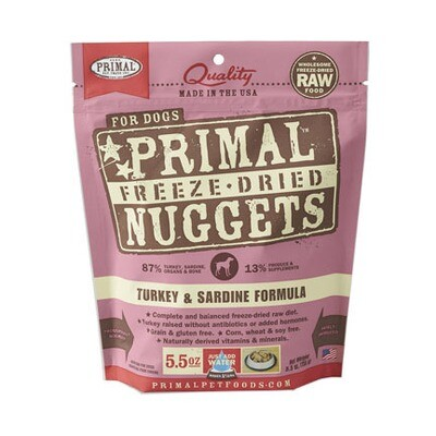Primal Dog FD Turkey/Sard 5oz