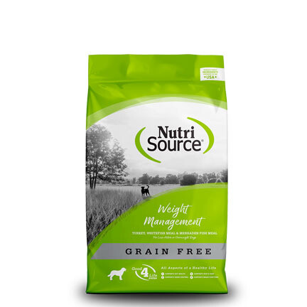 NutriSource Dog GF Weight Mgmt 15#