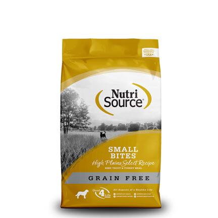 NutriSource Dog High Plains Small 15#