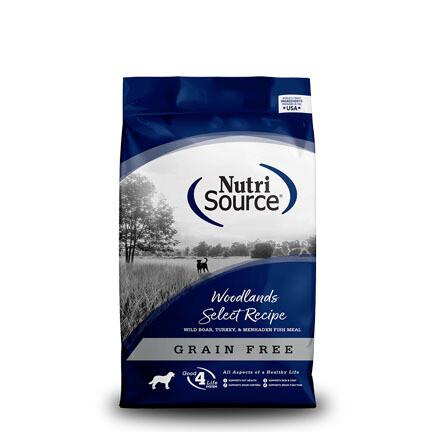 NutriSource Dog Woodlands 15#