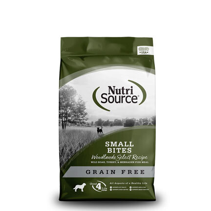 NutriSource Dog Woodlands Small 15#