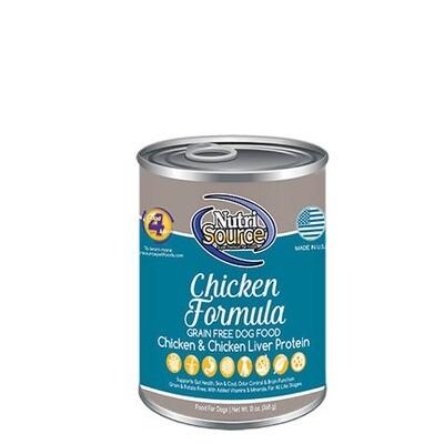 NutriSource Dog GF Chicken 13oz