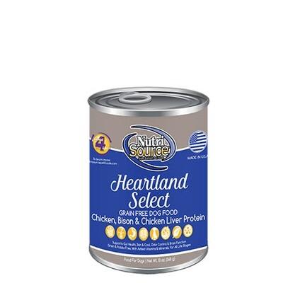 NutriSource Dog Heartland 13oz