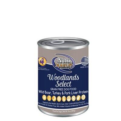 NutriSource Dog Woodlands 13oz
