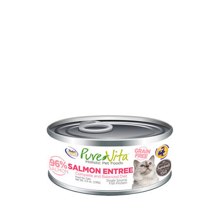 PureVita Cat Salmon Entree 5oz