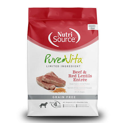 PureVita Dog GF Beef Lentil 25#