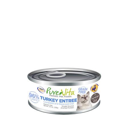 PureVita Cat Turkey Liver 5oz