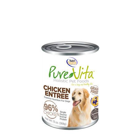 PureVita Dog Chicken/Liver 13oz