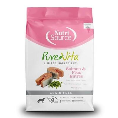 PureVita Dog GF Salmon 25#
