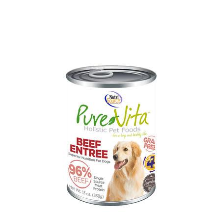 PureVita Dog Beef/Liver 13oz