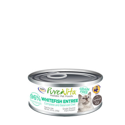 PureVita Cat Whitefish Entree 5oz