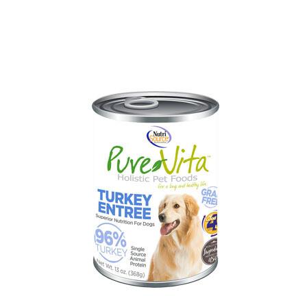 PureVita Dog Turkey/Liver 13oz