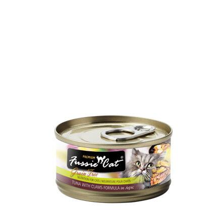 Fussie Tuna/Clams 3oz