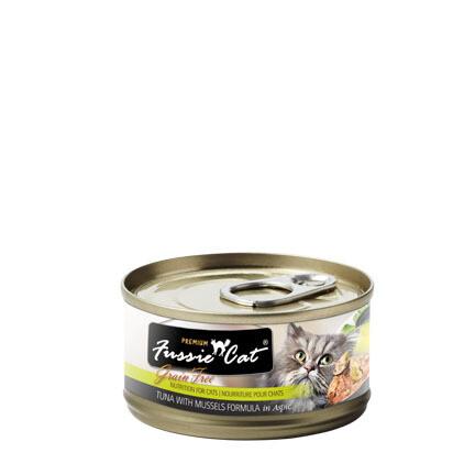 Fussie Tuna/Mussels 3oz
