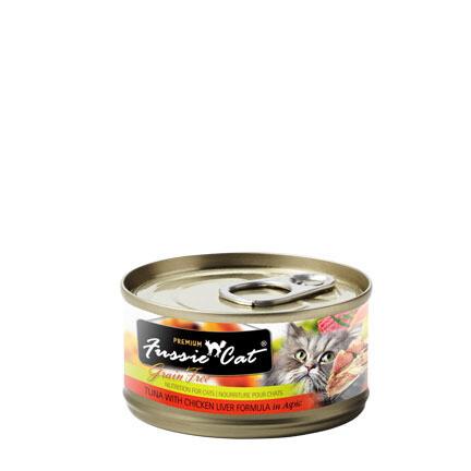Fussie Tuna/Chicken Liver 3oz