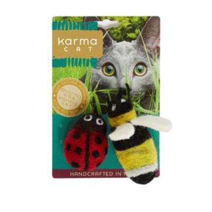 Dharma Cat Karma Ladybug Bee 2pk