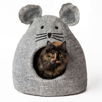 Dharma Cat Cave Grey Mouse