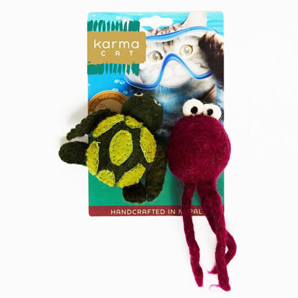 Dharma Cat Turtle & Jellyfish