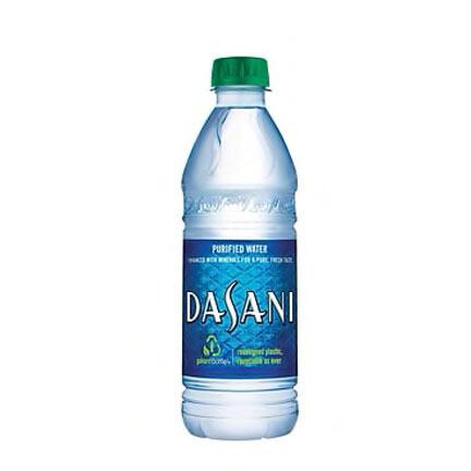 Dasani Bottled Water 16oz
